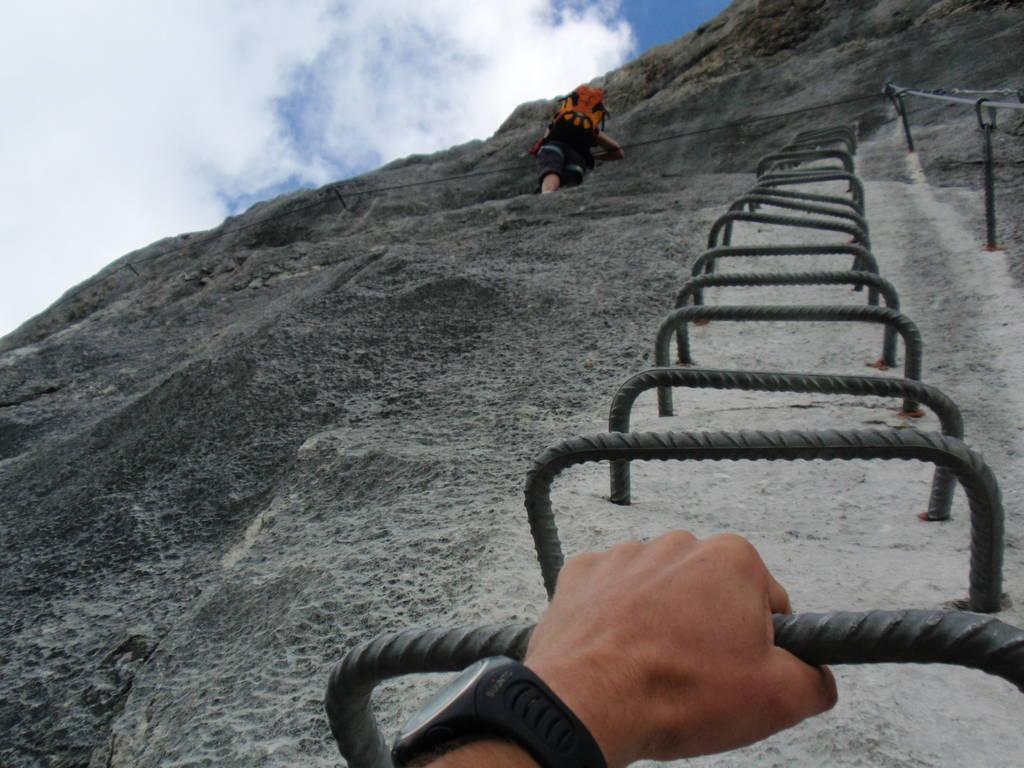 Klettersteig Johann Dachstein : Dachstein klettersteige mountainguide you